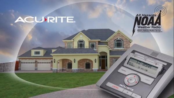 Acu-Rite NOAA Severe Weather Home Radio Giveaway ~ 3 Winners ~ Ends 5/5