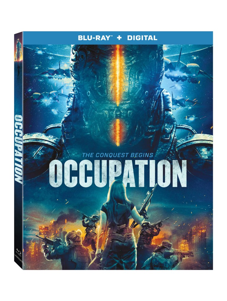 Occupation Blu-Ray Movie Giveaway Ends 10/8 Good Luck from Tom's Take On Things