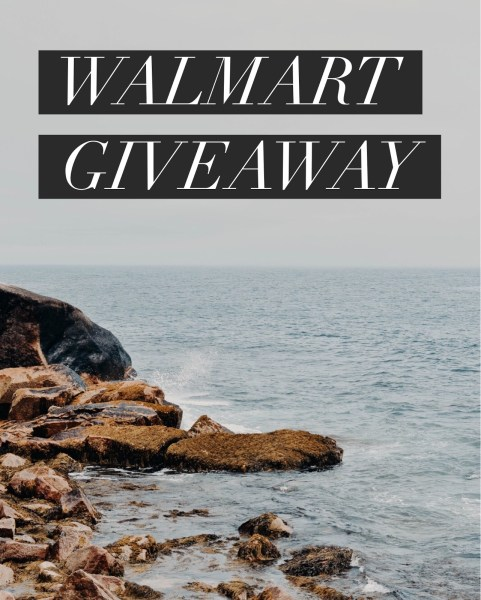 $100 Walmart Gift Card Giveaway Ends on 10/10 and you can win this! Good Luck!