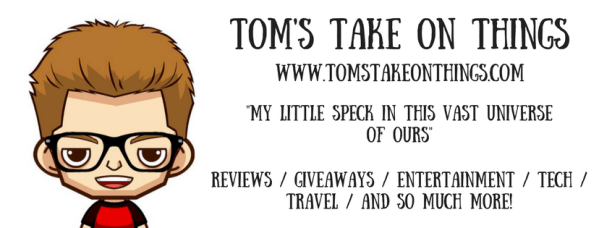 Enter to win a $10 Amazon Gift Card here on Tom's Take On Things