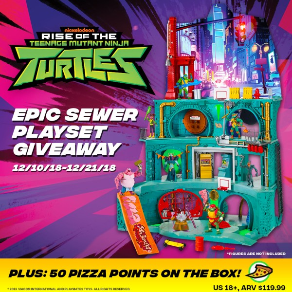 TMNT Epic Sewer Lair Giveaway ~ This Thing Is Epic   Giveaway Ends 12/21 How cool would this be to win?