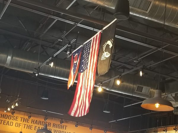 Mission BBQ represents the Military and First Responders with fantastic food as well