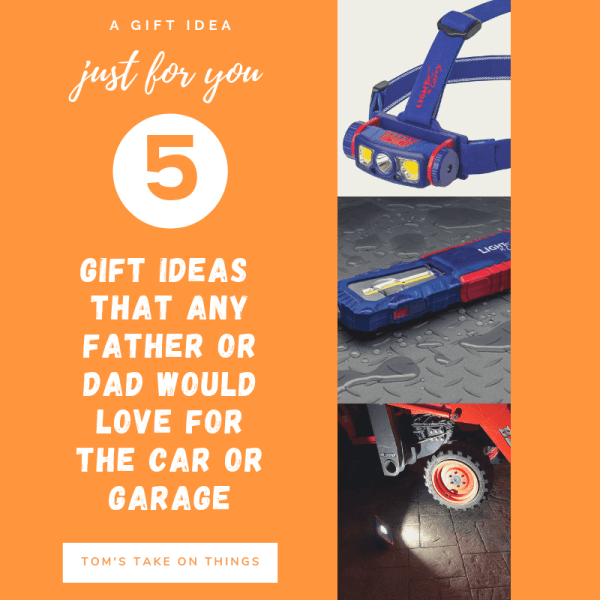 5 Gift Ideas That Any Guy, Father, or Dad Would Love For The Car Or Garage