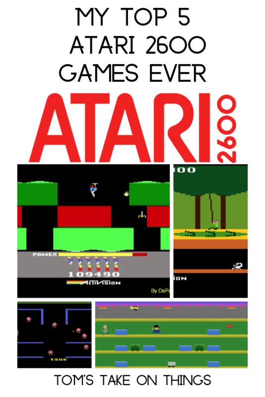 My Top 5 Atari 2600 Games Ever
