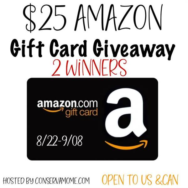 $25 Amazon Gift Card Giveaway