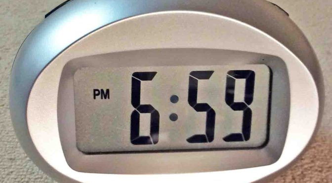 Picture of the 6300452 Talking Digital Alarm Clock by RadioShack.
