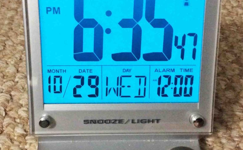 Sharper Image Atomic Clock Review, LCD