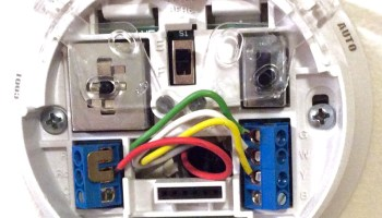 Enjoyable How To Wire A Honeywell Thermostat With 4 Wires Toms Tek Stop Wiring Digital Resources Sapredefiancerspsorg