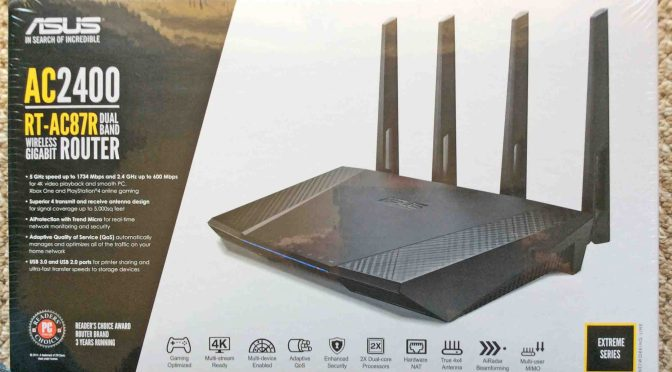 Asus RT AC87R Router AC2400 Review