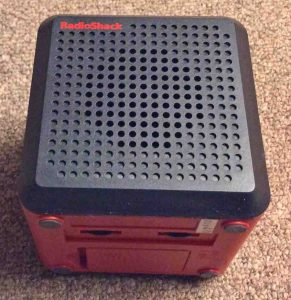 Picture of the NOAA Weather Cube, Radio Shack 12-500, Front View