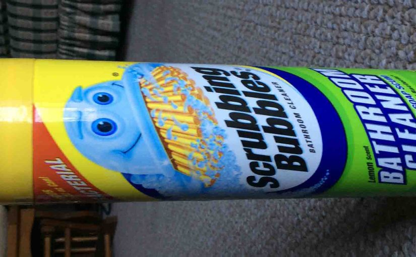 Scrubbing Bubbles Antibacterial Bathroom Cleaner Review
