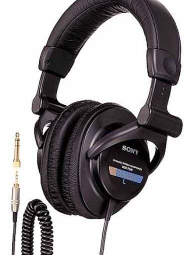 sony mdr 7509 headphones review professional studio monitors tom 39 s tek stop. Black Bedroom Furniture Sets. Home Design Ideas