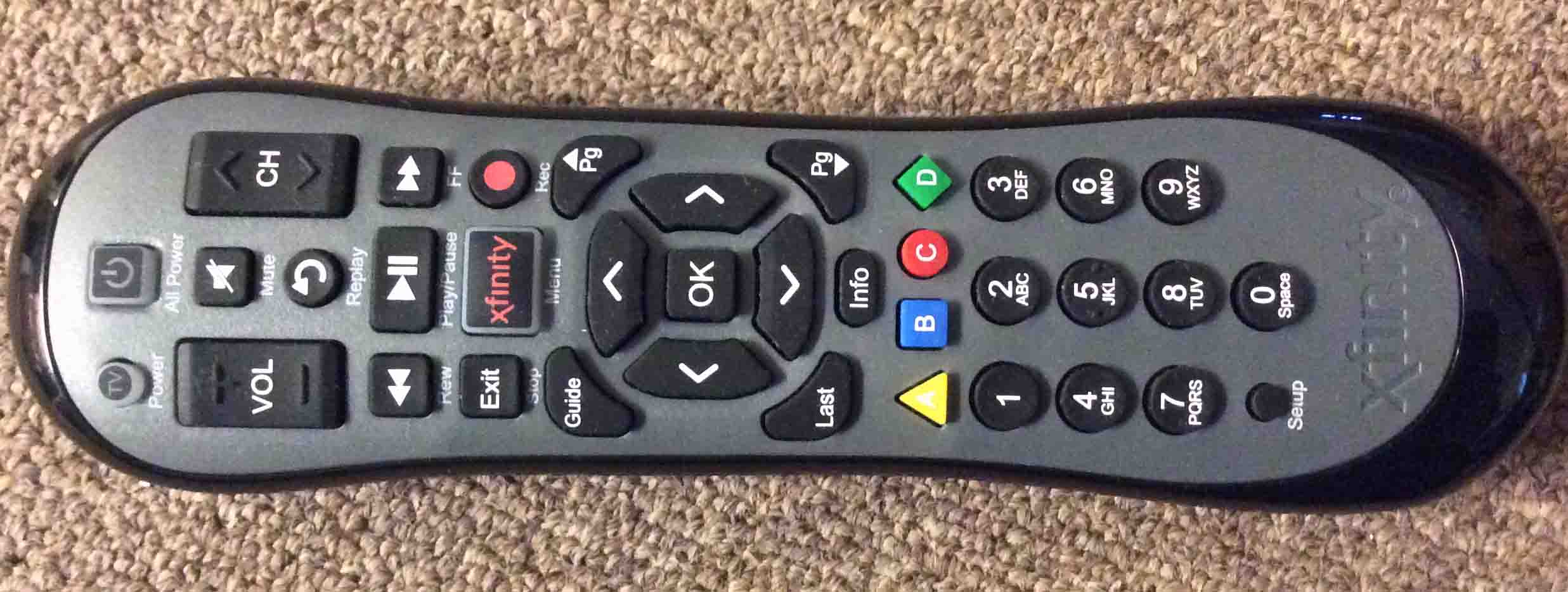 Xfinity XR2 U2 Comcast Remote Control Review | Tom's Tek Stop