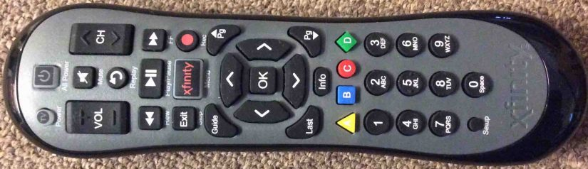 How to Reset Xfinity Remote XR2 U2