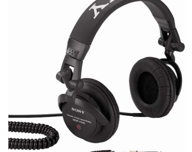 Sony MDR-V500 Earphones Studio Monitor Headphones Review