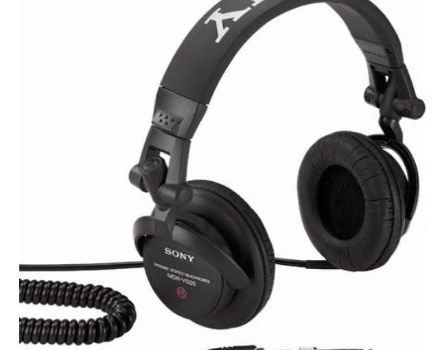sony mdr v500 earphones studio monitor headphones review tom 39 s tek stop. Black Bedroom Furniture Sets. Home Design Ideas
