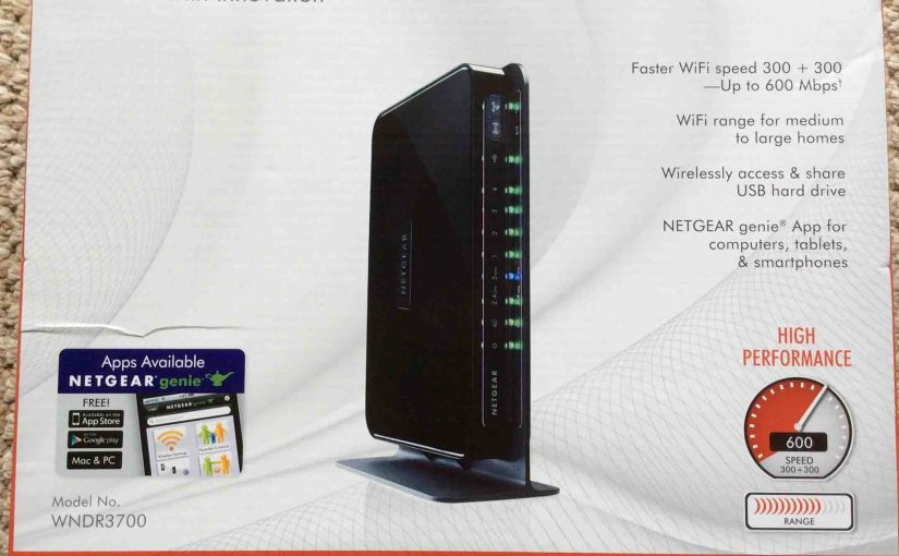 Netgear WNDR3700v4 N600 Router Review