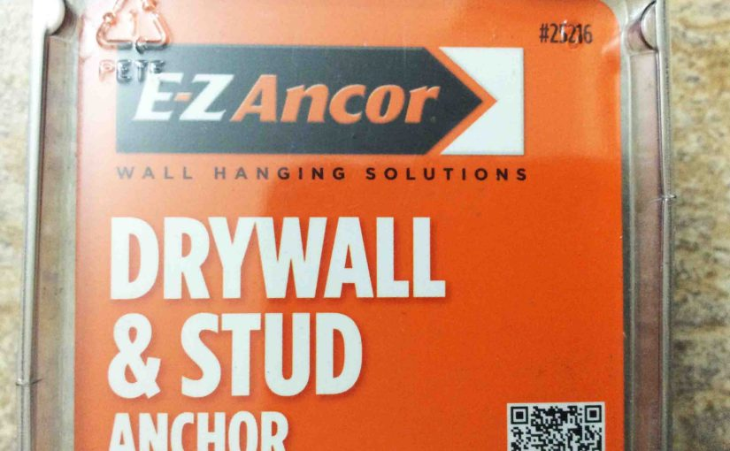 EZ Ancor Stud Solver Drywall and Stud Anchor Review