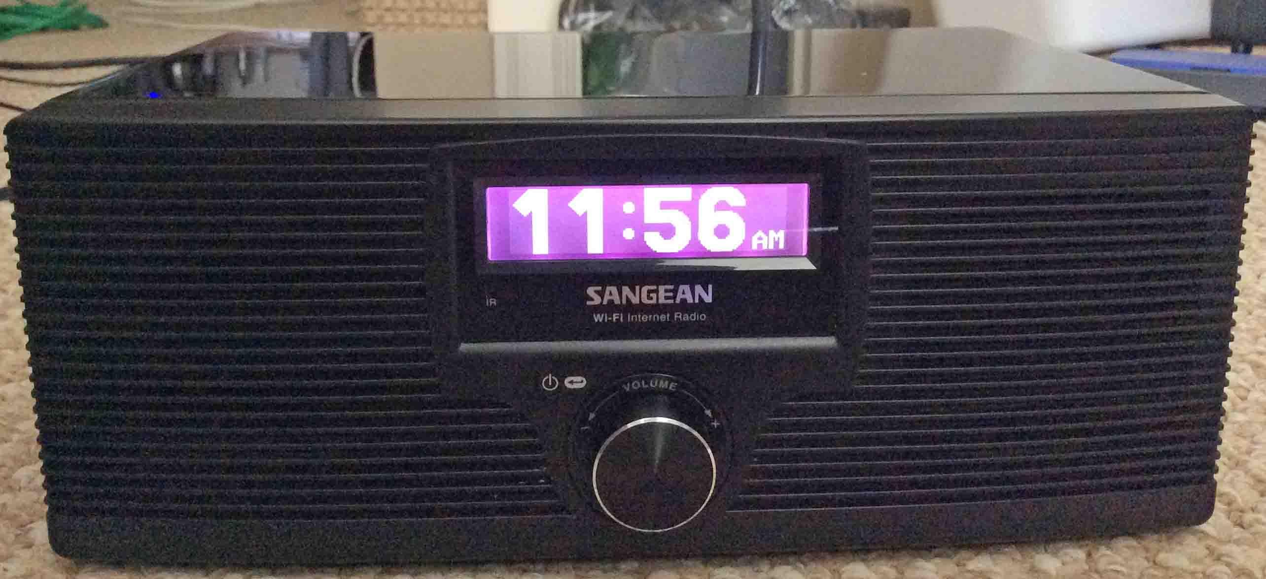 sangean wfr 20 digital wifi internet radio player review tom s tek rh tomstek us Sangean Radios Best Deal Sangean CC Radio
