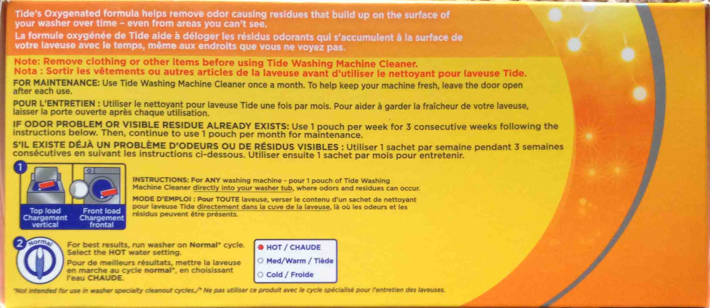 Tide Washing Machine Cleaner Review For He Tom S Tek Stop