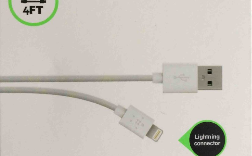 Apple Lightning Cable Replacement by Belkin, Review