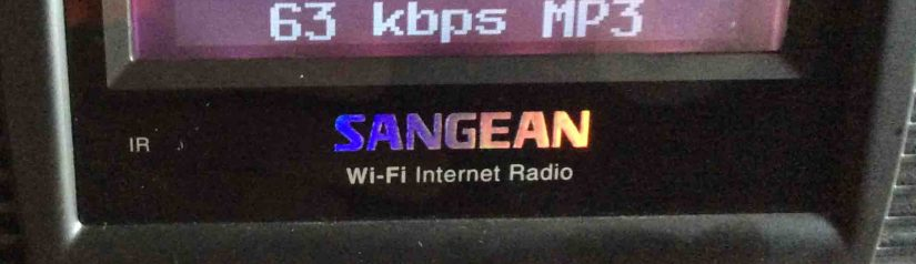 Sangean WFR 20 Internet Radio Picture Gallery