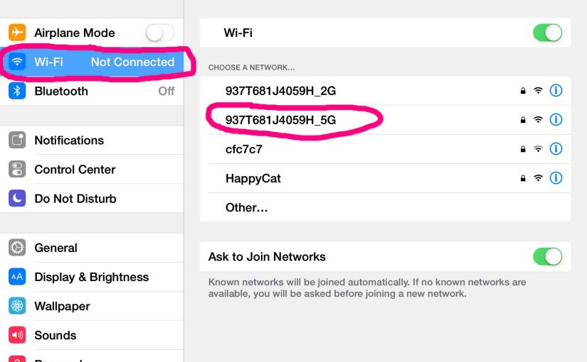 How to Change WiFi Network on iOS Devices