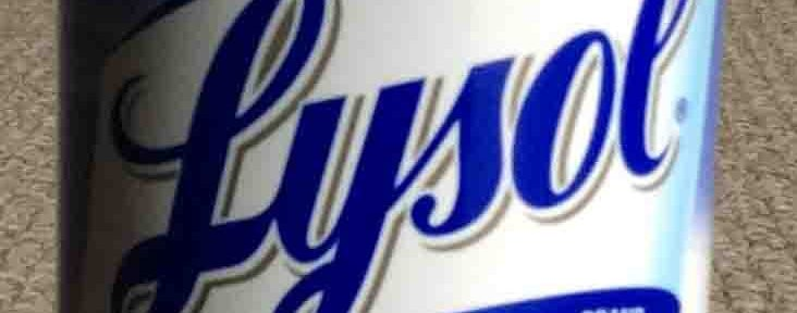 Lysol Foam Bathroom Cleaner Review