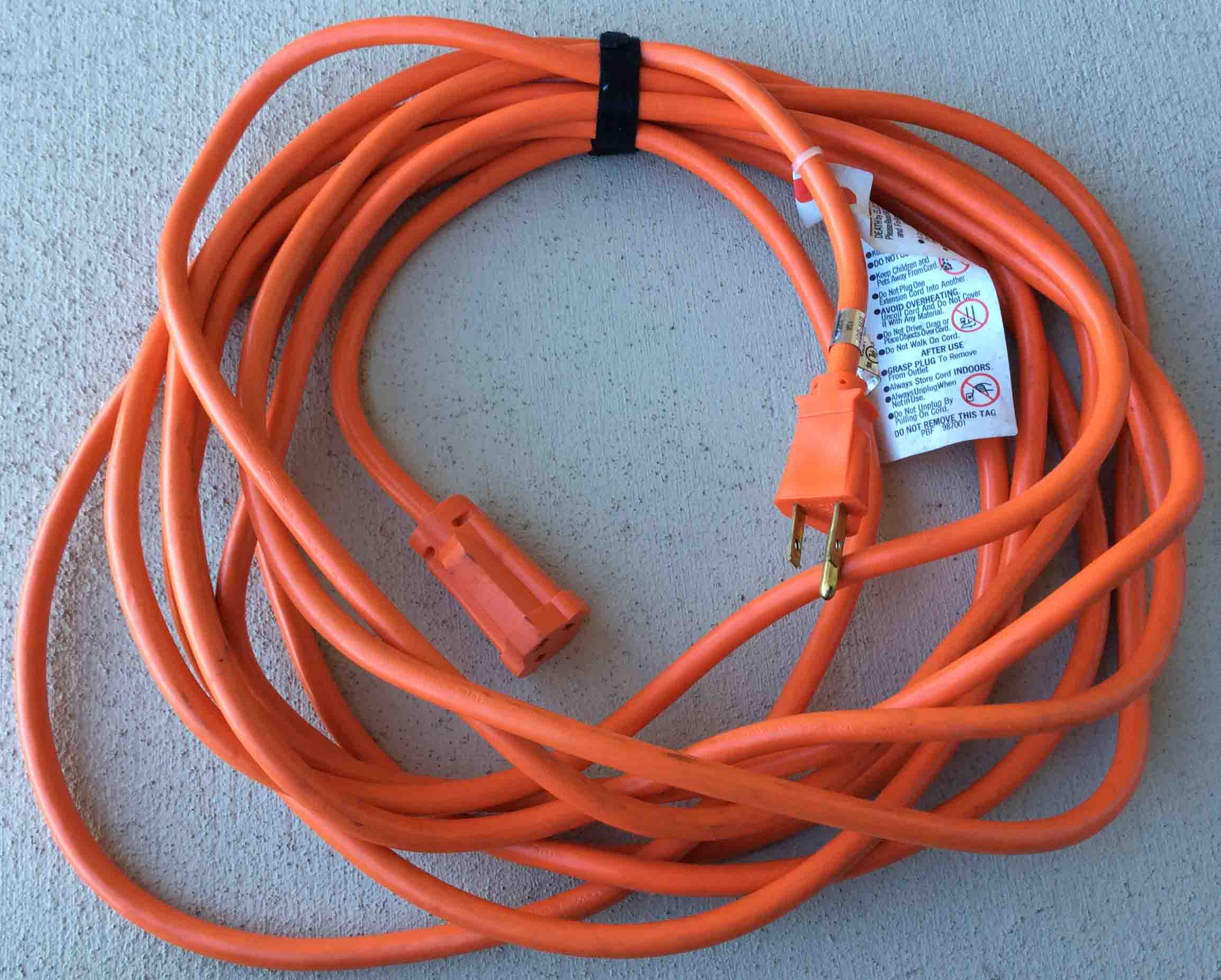 Extension Cord Safety Tips, Help, Advice | Tom\'s Tek Stop