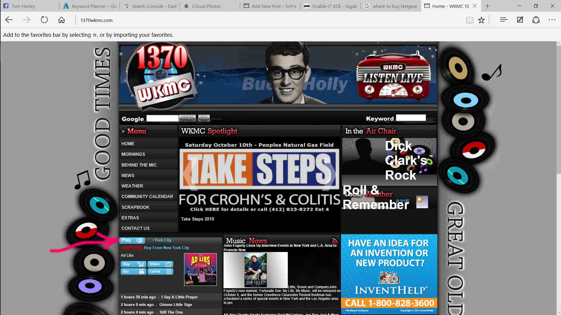 Finding Radio Stream URL Using URL Snooper 2   Tom's Tek Stop