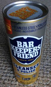 Picture of Bar Keepers Friend® Cleanser Polish, 21 ounce can, front view.