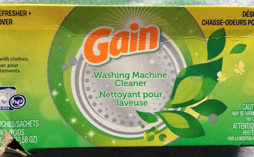Gain Washing Machine Cleaner Review
