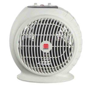 Fixing noisy portable fan heaters. Picture of the WarmWave 1500 Watt Portable Fan Heater, front view.