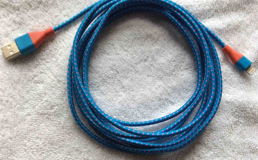 iEdge E 330 Cable Review, Lightning Cord