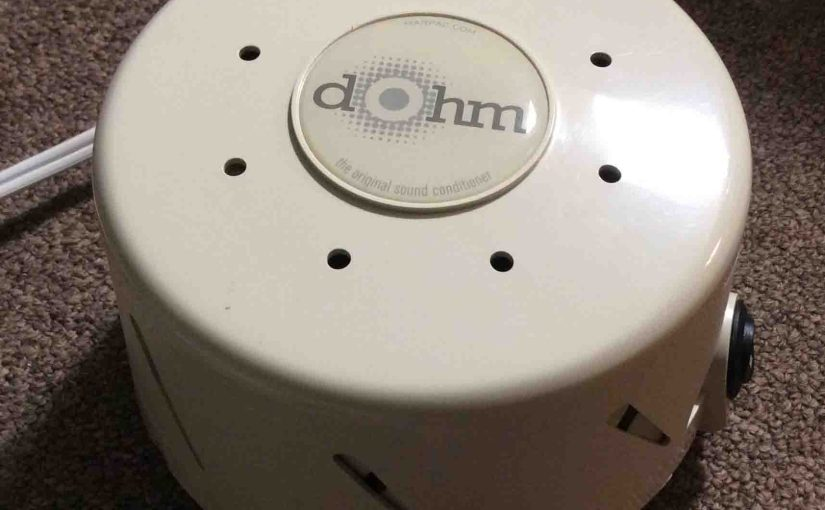 Dohm White Noise Sound Machine DS for Sleep and Office Review