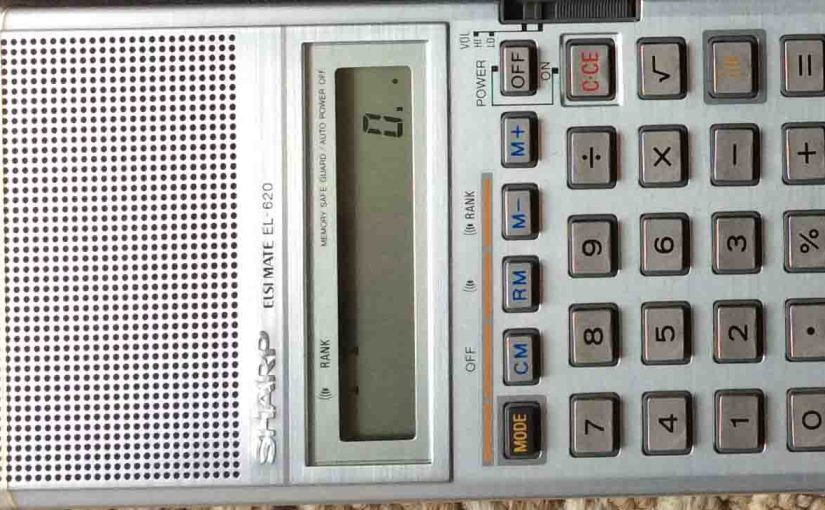 Sharp Elsi Mate Calculator EL-620 Review