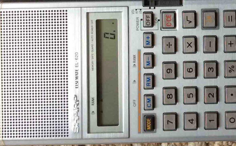 Sharp Elsi Mate Calculator EL-620 Review