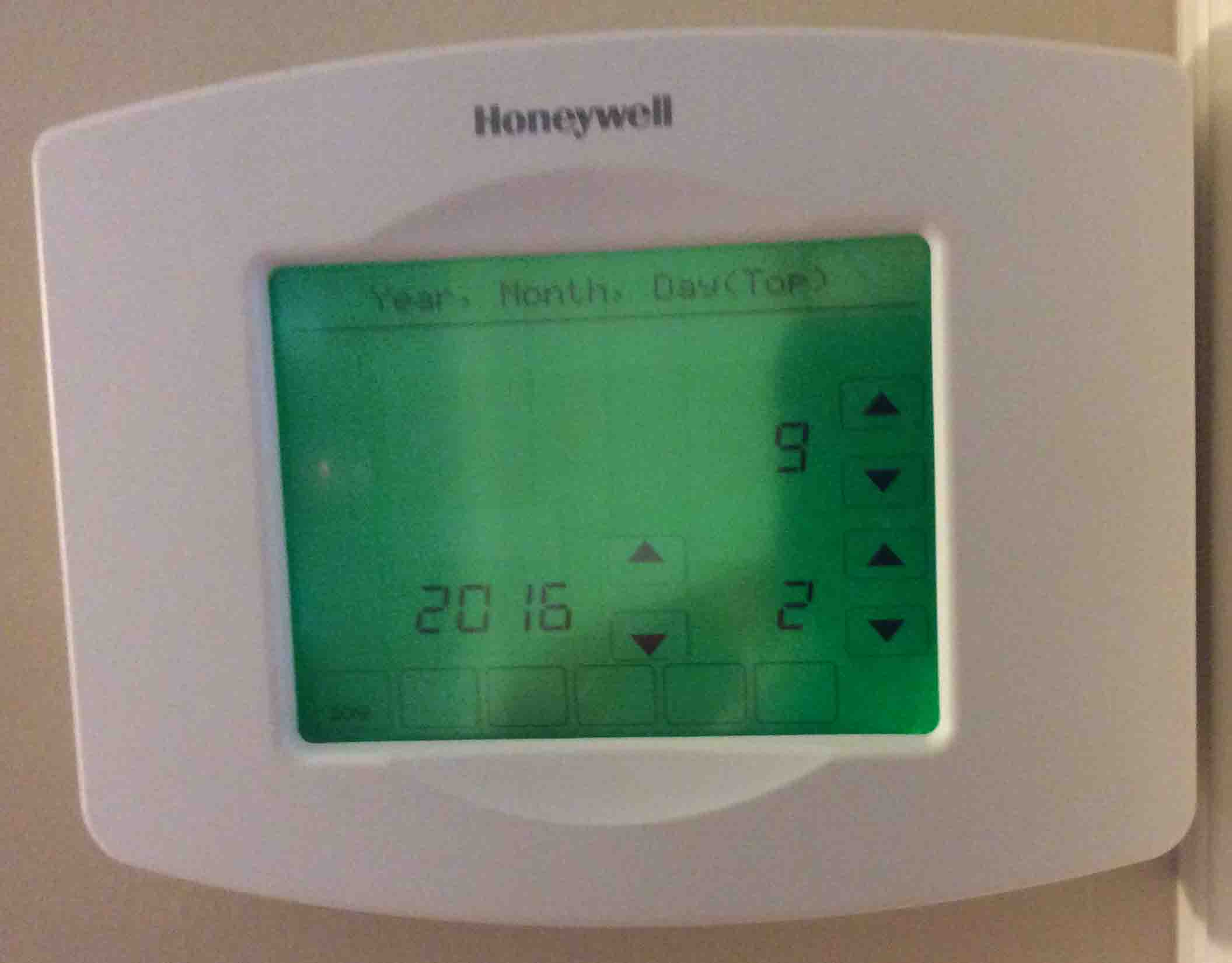 how to use honeywell thermostat