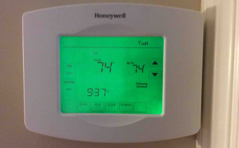 How to Reset Honeywell RTH8580WF Thermostat