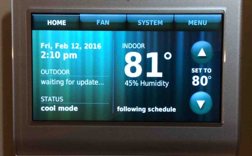 Thermostat Reads Higher than Actual Temperature
