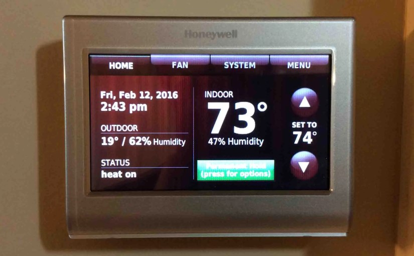 Connecting Amazon Echo Dot to Honeywell Thermostats, 2016
