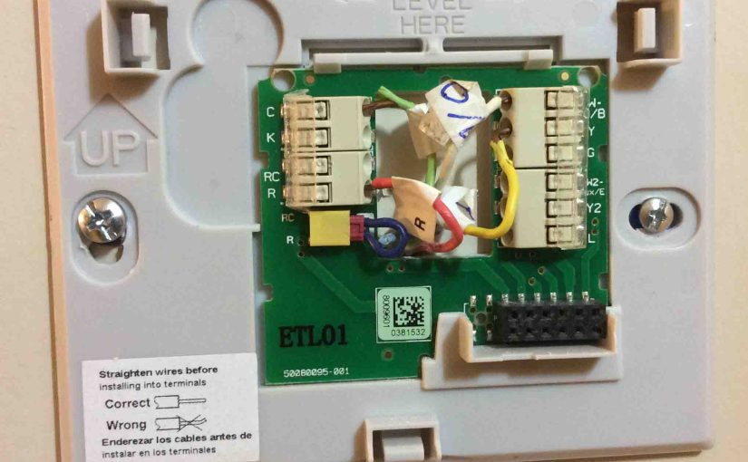 4 Wire Thermostat Wiring Color Code