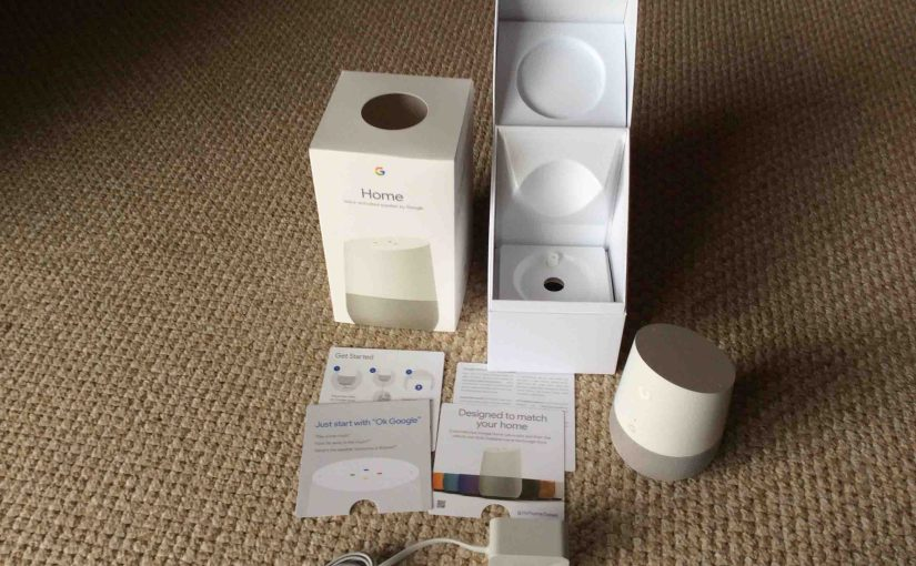 Original Google Home Wi-Fi Smart Speaker Picture Gallery