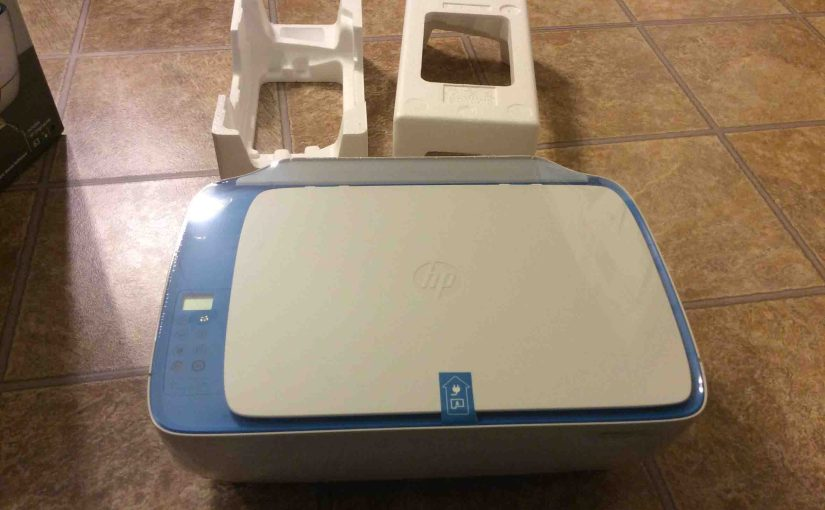 HP DeskJet 3630 Series Wireless Printer Setup Instructions