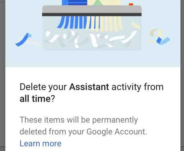 Delete Google Home Recordings, How To