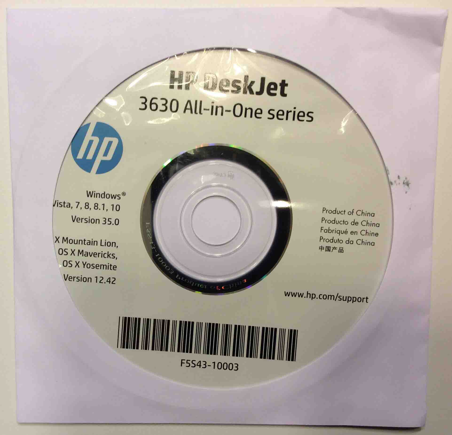 hp deskjet 3630 how to connect with cord