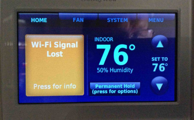 Solving Honeywell WiFi Thermostat Connection Problems | Tom's Tek Stop