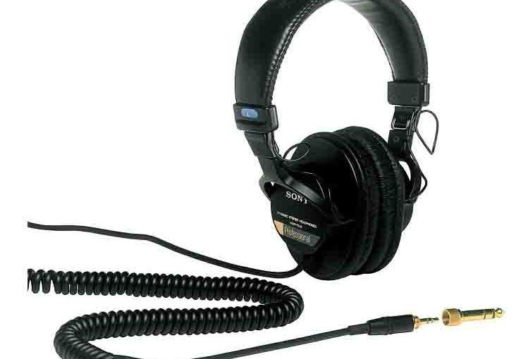 Sony MDR 7506 Headphones Review, Studio Monitor