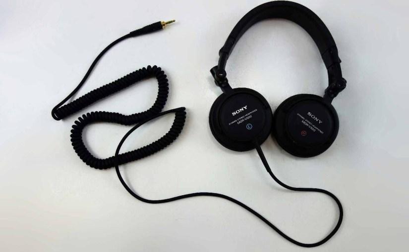 Sony MDR-V500DJ Professional DJ Headphones Review