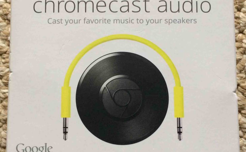 How to Reboot Chromecast Audio